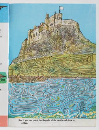 Look at Lindisfarne Castle