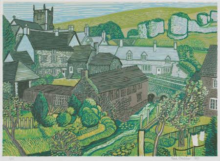 Corfe Village and Castle, Dorset
