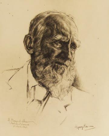 George Bernard Shaw (1856-1950) at Ayot St. Lawrence