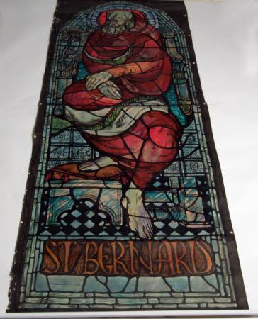 Design for St Bernard Shaw Window: George Bernard Shaw (1856-1950)