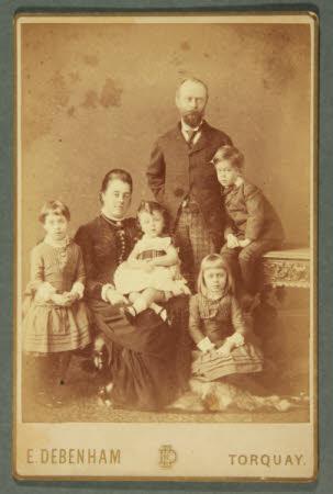 Left to right, the Hon. Julia Caroline Everilda Agar-Robartes (1880-1969) Mary Dickinson, later ...