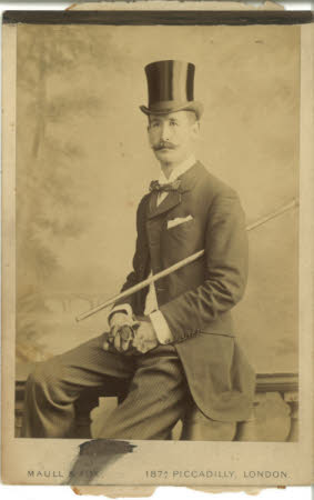 Unknown gentleman