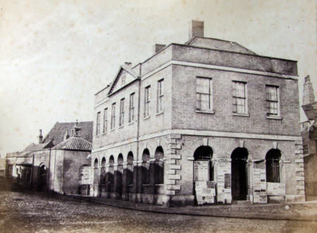 Fish Market, Cobble House and Custom House, Wisbech