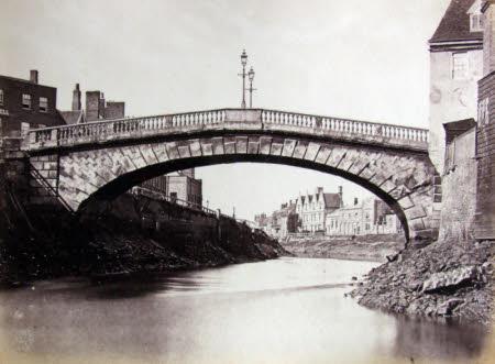 Old Bridge looking towards North Brink, Wisbech
