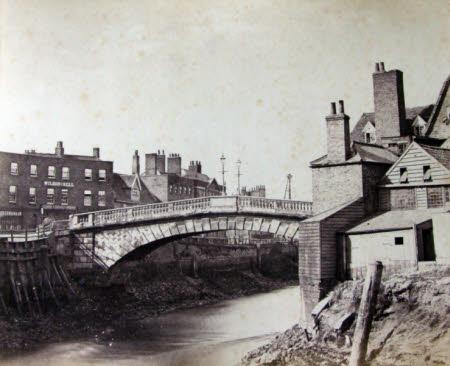 Old Bridge from Nene Quay, Wisbech