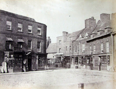Entrance to Old Market from Cornhill, Wisbech