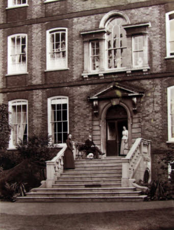 The Back Steps of Bank House