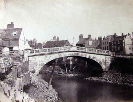 Old Bridge after Flood of 1852, Wisbech