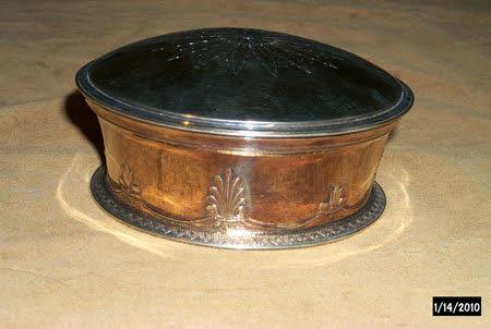 Powder box lid