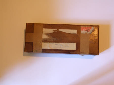 Rectangular brown cardboard box