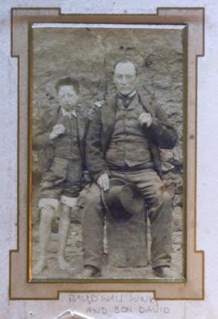 David Wall Winks (1829-1913) and his son David Winks Jr.