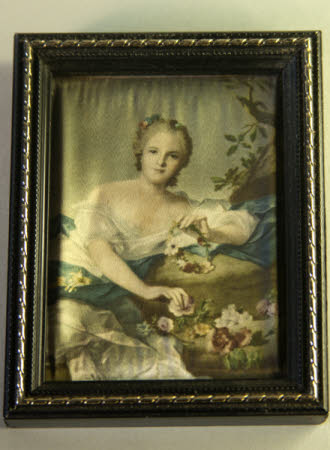 Anne-Henriette of France (1727-1752), known as Madame Henriette represented as Flora