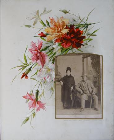 David Wall Winks (1829-1913) and Elizabeth Hett, Mrs David Wall Winks