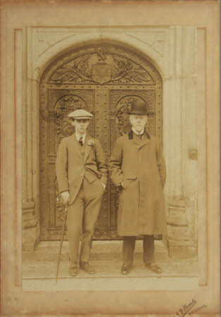 Thomas Charles Agar-Robartes, 6th Viscount Clifden (1844-1930) with his son  The Hon. Cecil Edward ...