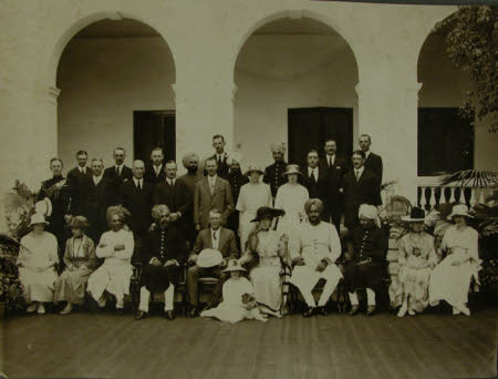 India: Group includes: The Hon. Alexander George Agar-Robartes, MC (1895-1930), Frederic John ...
