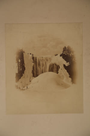 Montmorency Falls near Quebec, Canada: winter