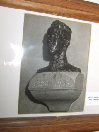 Bust of Thomas Edward Lawrence, 'Lawrence of Arabia' (1885-1935) by Eric Henri Kennington