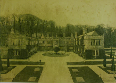 Lanhydrock after the Fire, April 1881