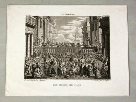 Les Noces de Cana (The Wedding at Cana) (after Paolo Veronese)