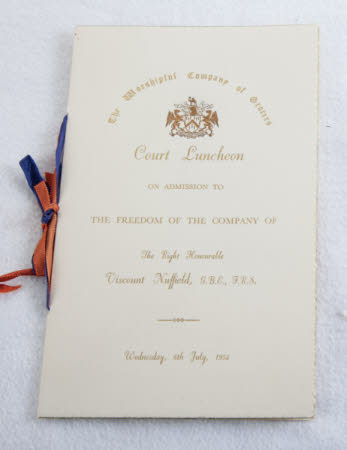 Worshipful Company of Grocers Dinner