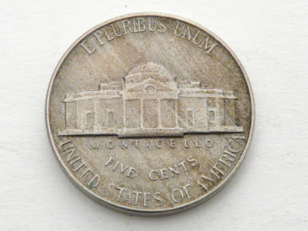 5 cents coin, 1954: United States of America