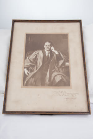 William Richard Morris, Viscount Nuffield (1877-1963) in robes