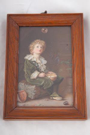 Bubbles (after Sir John Everett Millais)