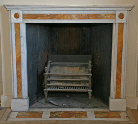 Chimneypiece, West Flat, Mottisfont Abbey