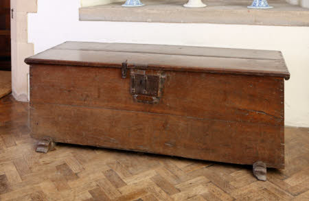 Boarded chest