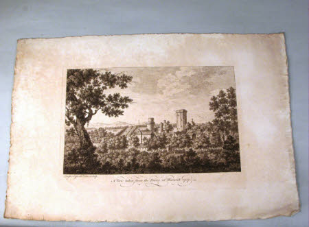 A View taken from the Priory at Warwick 1757