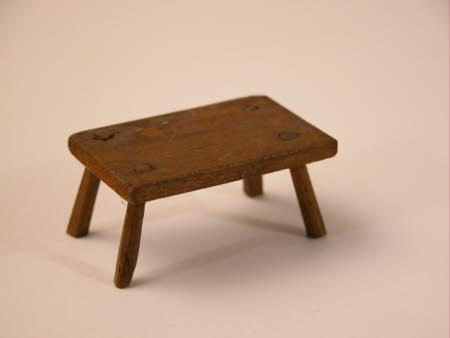 Doll's house stool