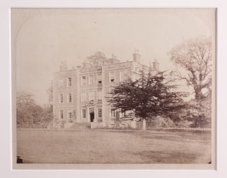 West front of Gunby Hall