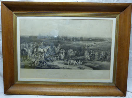 'The Meeting of her Majesty's stag hounds on Ascot Heath', (after Sir Francis Grant)