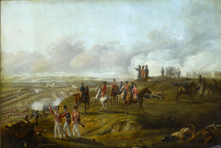 View of the Battle of Talavera, July 28th 1809