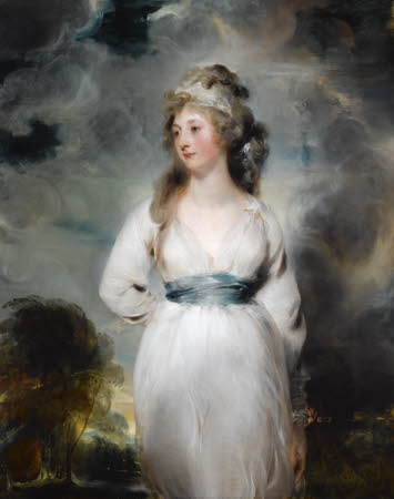 Lady Amelia (Emily) Anne Hobart, Viscountess Castlereagh, later Marchioness of Londonderry ...