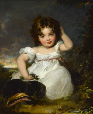 Alexandrina Octavia Maria Vane-Tempest, later Countess of Portarlington (1824 - 1874) as a Child