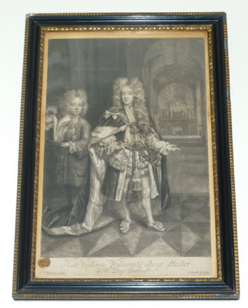 Prince William Henry, Duke of Gloucester, KG (1689–1700) and his page Benjamin Bathurst (?1691-1767)