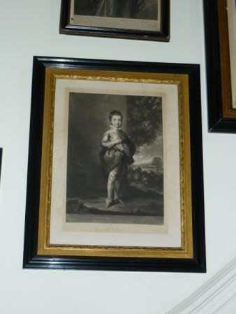 Jacob Pleydell Bouverie, 2nd Earl of Radnor (1750–1828) as a Child (after Sir Joshua Reynolds PRA)