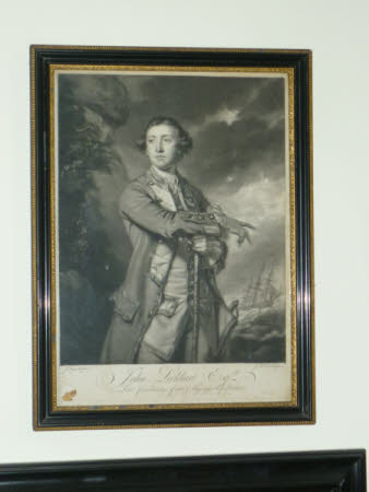 Sir John Lockhart-Ross, 6th Bt (1721-1790) (after Sir Joshua Reynolds PRA)