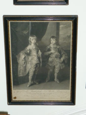 George Villiers, 2nd Duke of Buckingham KG, PC, FRS, (1628-1687) with his brother Lord Francis ...