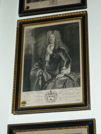 Sir Philip Sydenham, 3rd Bt MP (1676-1739) (after D. de Haese)
