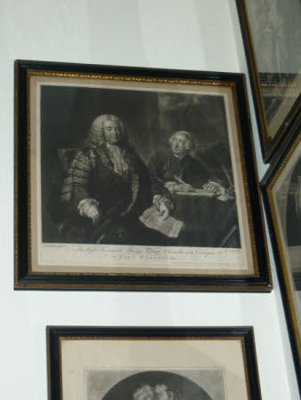 The Rt Hon. Lord Henry Pelham, PC, MP, (1696– 1754) and John Roberts (1711/12-1772) (after John ...