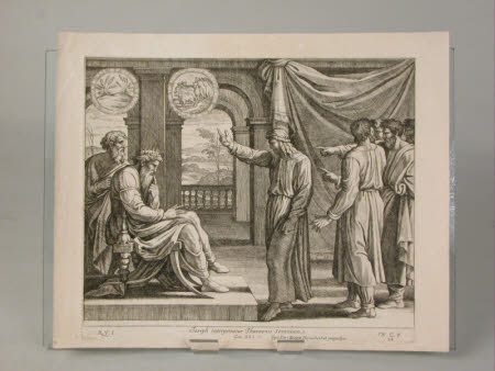 Joseph interpreting Pharoah's Dreams (after Raphael)