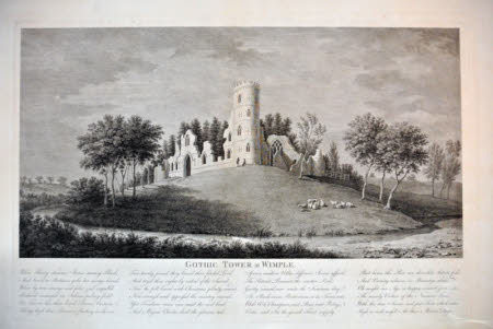 Gothic Tower at Wimple [Cambridgeshire]