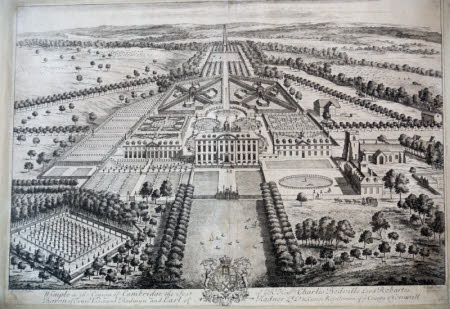 View of Wimpole Hall, Cambridgeshire