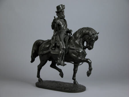 William I, Prince of Orange (1533-1584) on horseback
