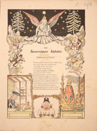 The Struwwelpeter alphabet