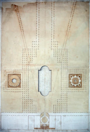 Design for the 'Grand Parade' at Wimpole Hall, Cambridgeshire