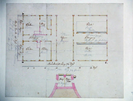 Ground Floor Plan of a Swiss barn