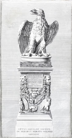 Strawberry Hill Eagle (after Johann Heinrich Müntz)